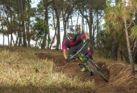 Chris Keeling, jeune rider nepalais