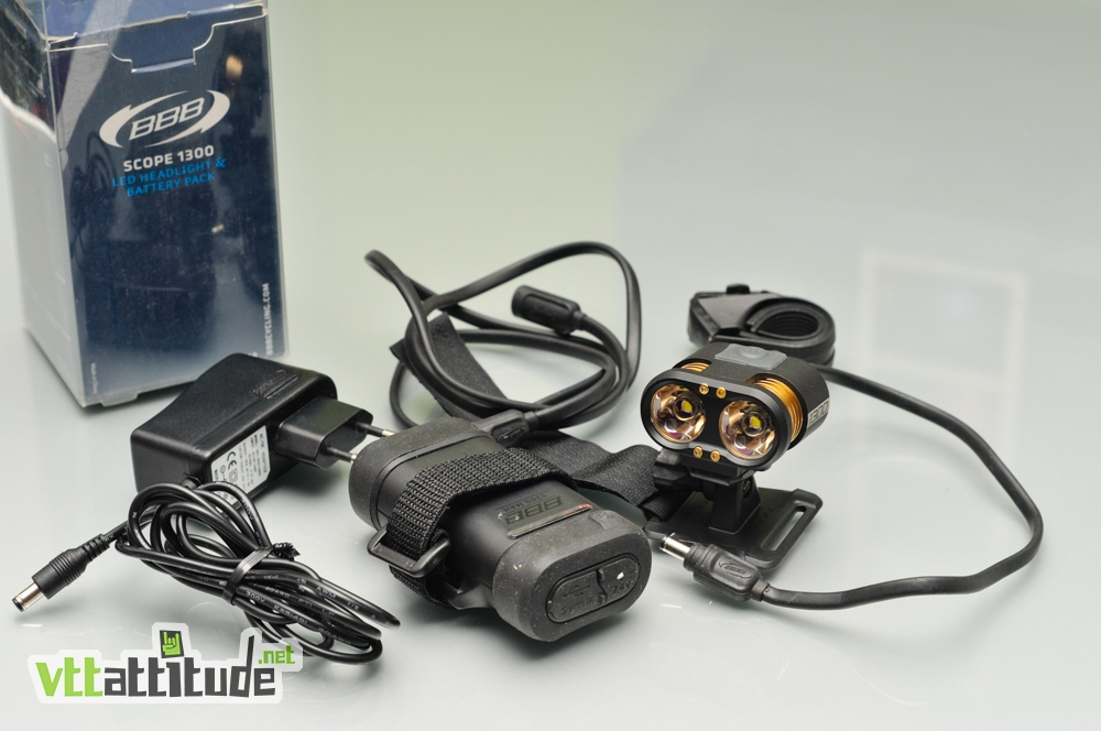 test bbb scope 1300 lumens pour le vtt enduro