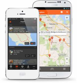 Application Strava pour iPhone et Android