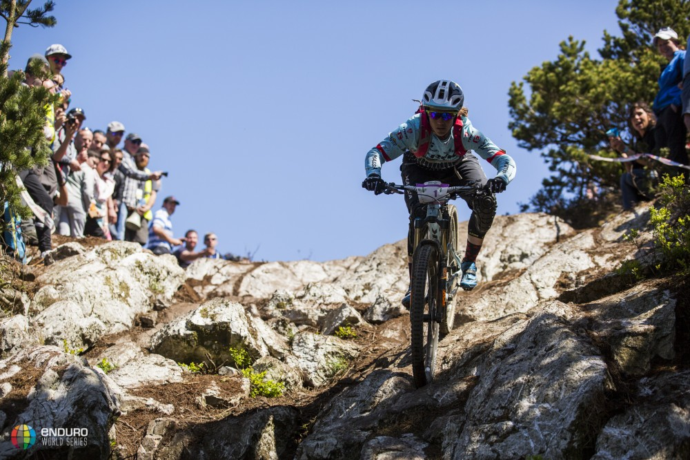 Tracy Moseley gagne la manche de Wicklow, Enduro World Series 2016