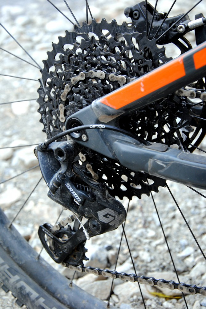 SRAM Eagle, la transmission VTT 12 vitesses