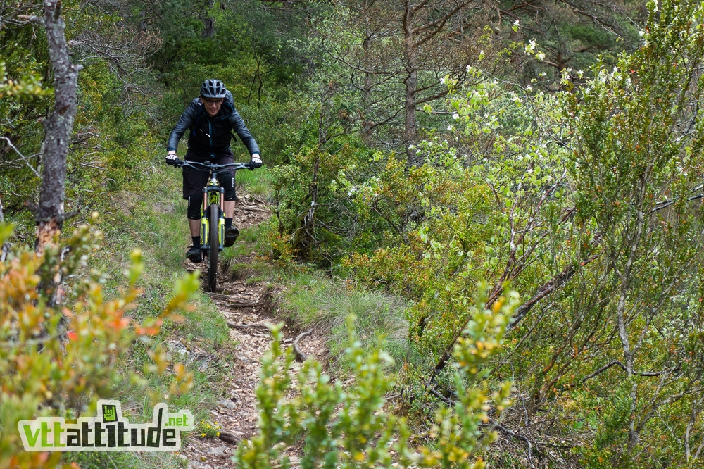 Week-end VTT enduro à Millau