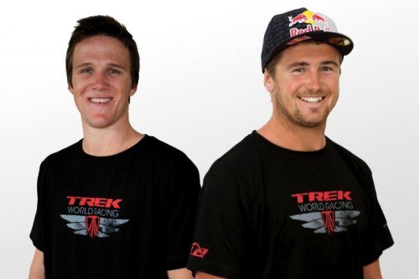Geaorge Brannigan et Brook MacDonald rouleront cette année pour Trek World Racing