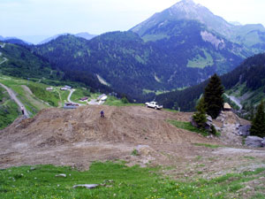 Travaux Châtel Mountain Style Contest