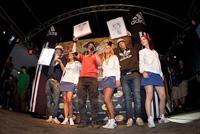 Podium Adidas slopestyle 2008