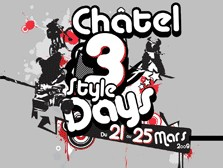 Chatel 3Style Days, VTT 4X, ski et snow