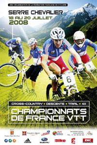 Championnat de France VTT 2008