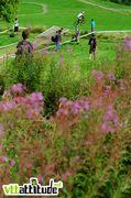 Le haut de la piste de La Bresse, des plus champêtre !