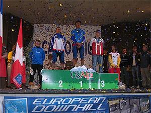 Championnats d'Europe DH 2008