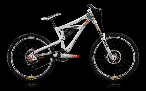 Le KTM Aphex 2010 offre un nouveau réglage de l'angle de chasse
