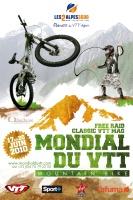 L'affiche du Mondial du VTT 2010