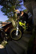 Stevie Smith sur son VTT Evil, Red Bull Desafio no Morro
