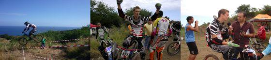 Florent Wolter, champion de VTT de descente de La Réunion