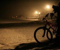 VTT sur neige à Saint Pierre de Chartreuse