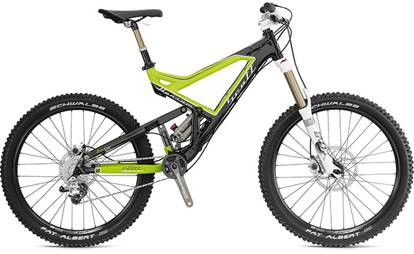 Scott Ransom 2010, l'enduro carbone