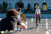 Making of du catalogue Spad de Ville, vétements et accessoires pour les cyclistes urbains