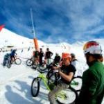 FISE Peyragudes, slopestyle VTT sur neige