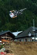 Damien Plane en 360 backflip