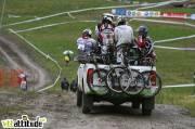 La remontée se fait en 4x4. Championnat de France de VTT 4X 2009, Oz en Oisans.