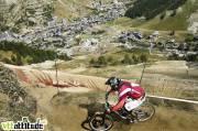 Coupe de France de VTT de descente 2009, 4ème manche à Val d'Isère.