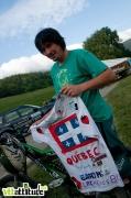 Lucas Stanus ne fait pas des vidéos, il roulait à Méaudre sous les couleurs du team Québec sous un maillot inédit. Coupe Rh�ne Alpes de VTT de descente, 5ème manche à Méaudre dans le Vercors.