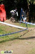 Florent Payet, le réunionnais du team Blackmountain Morewood remporte la manche qualificative.