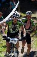 Bike'n Run ? Non non, ce n'est pas encore une discipline officielle. Ici, c'est du tandem.