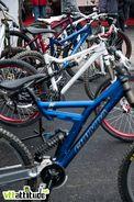 Pas de nouveau vélo mais des montage ultra classes de Chumba sur le stand Draille Bike.