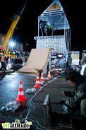 Il y avait du monde et du gros spectacle pour ce premier Public Work au Deux Alpes et ce, malgré la pluie.