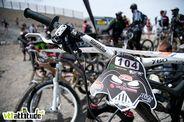 Les Choucas Bikers ne laissent rien au hasard quand à l'organisation de la Mountain of Hell. Pour preuve la plaque de cadre qui va bien.