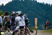 Ride entre potes sur la Pass'Portes du Soleil 2010. Ici dans le bike park de Ch�tel.