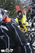 Floriane Pugin, soutenu par la station de Chatel roulait sous ces nouvelles couleurs du team Scott 11.