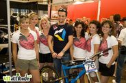 C'est plus trop la saison mais Joris Bigoni, champion d'Europe et rider Nicolai aime les fraises !