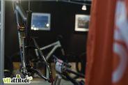 Le prototype du futur Sunn Charger, le bike d'enduro qui remplacera le Kern en 2011. Une ligne et une finition épurées pour cette nouvelle cinématique.